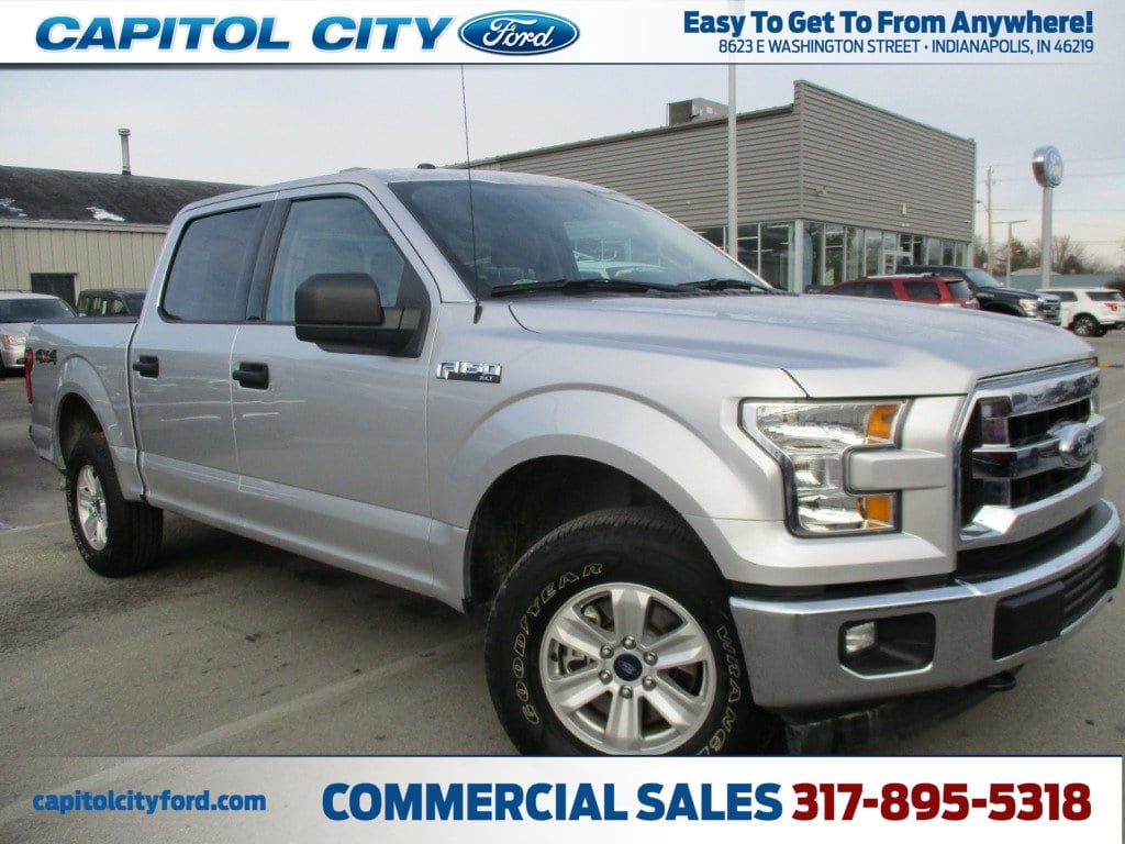 2017 F-150 Crew Cab 4x4, Pickup #FE0325 - photo 1