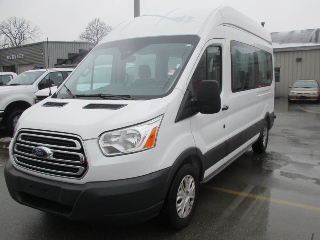 2017 Transit 350 High Roof, Passenger Wagon #FE0331 - photo 8