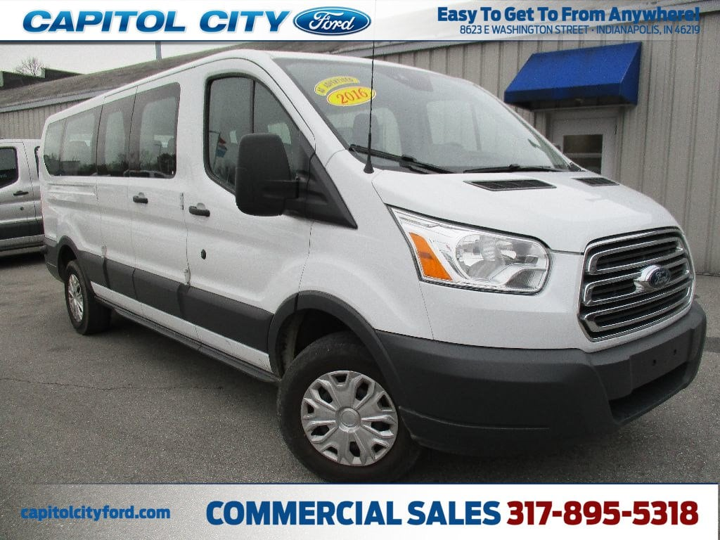 2016 Transit 350 Low Roof 4x2,  Passenger Wagon #FE0368 - photo 1
