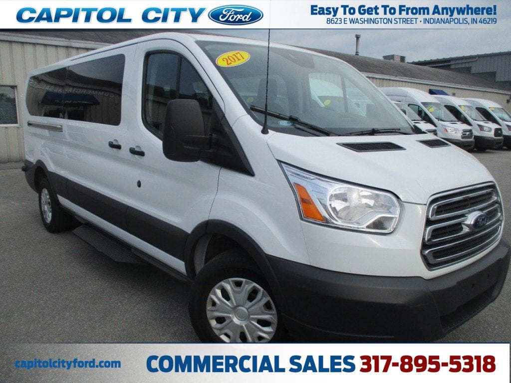 2017 Transit 350 Low Roof, Passenger Wagon #FP3678 - photo 1