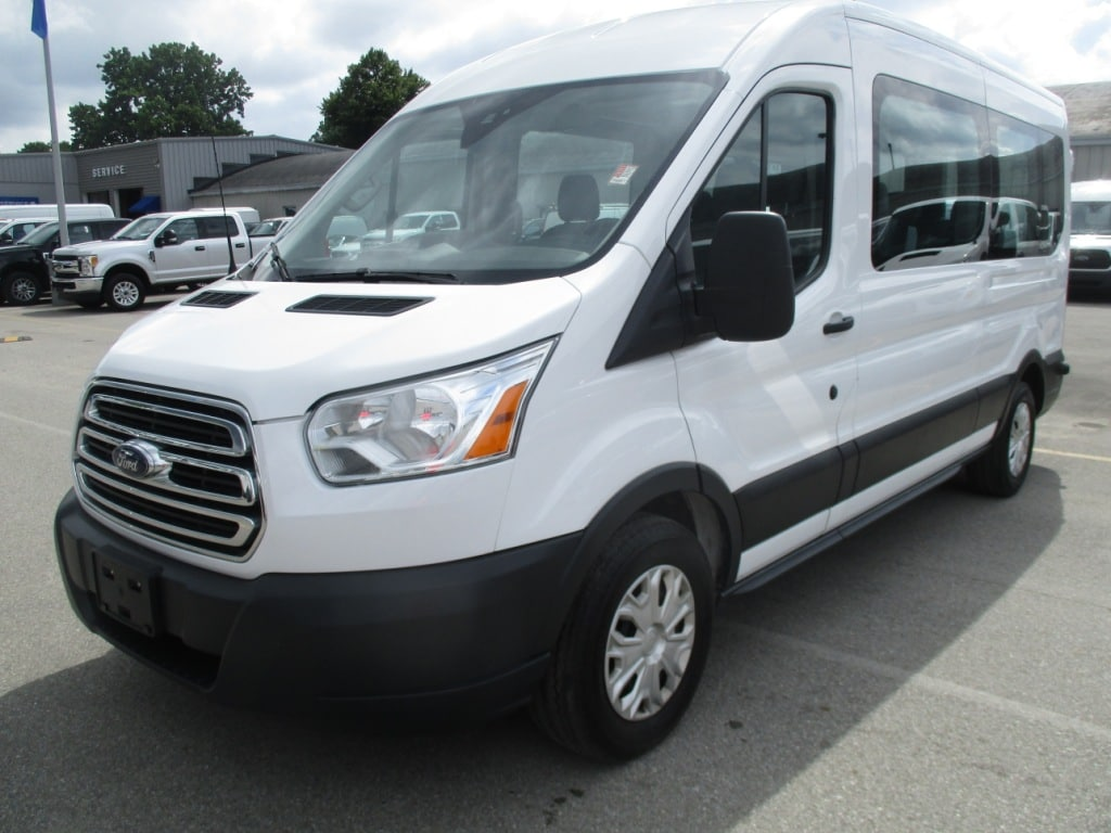 2017 Transit 350 Med Roof 4x2,  Passenger Wagon #FP3703 - photo 8
