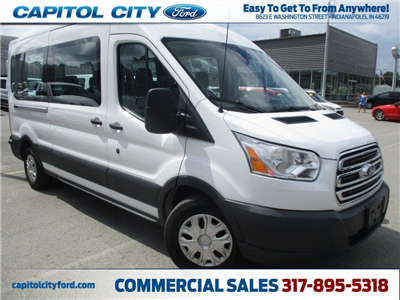2017 Transit 350 Med Roof 4x2,  Passenger Wagon #FP3703 - photo 1