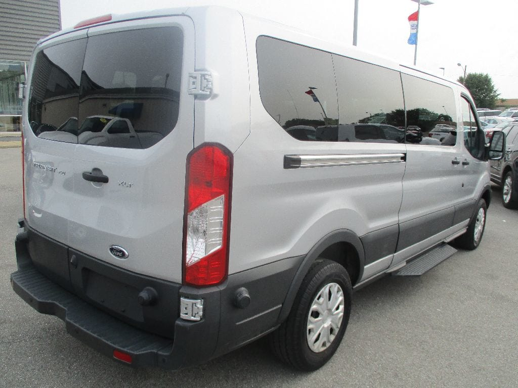 2017 Transit 350 Low Roof 4x2,  Passenger Wagon #FP3738 - photo 2