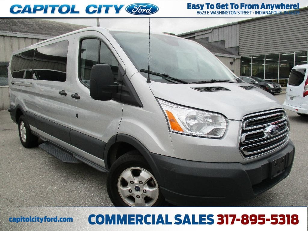 2017 Transit 350 Low Roof 4x2,  Passenger Wagon #FP3778 - photo 1