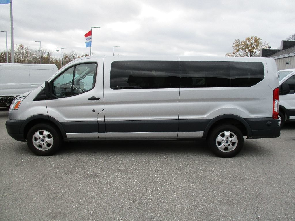 2017 Transit 350 Low Roof 4x2,  Passenger Wagon #FP3778 - photo 7