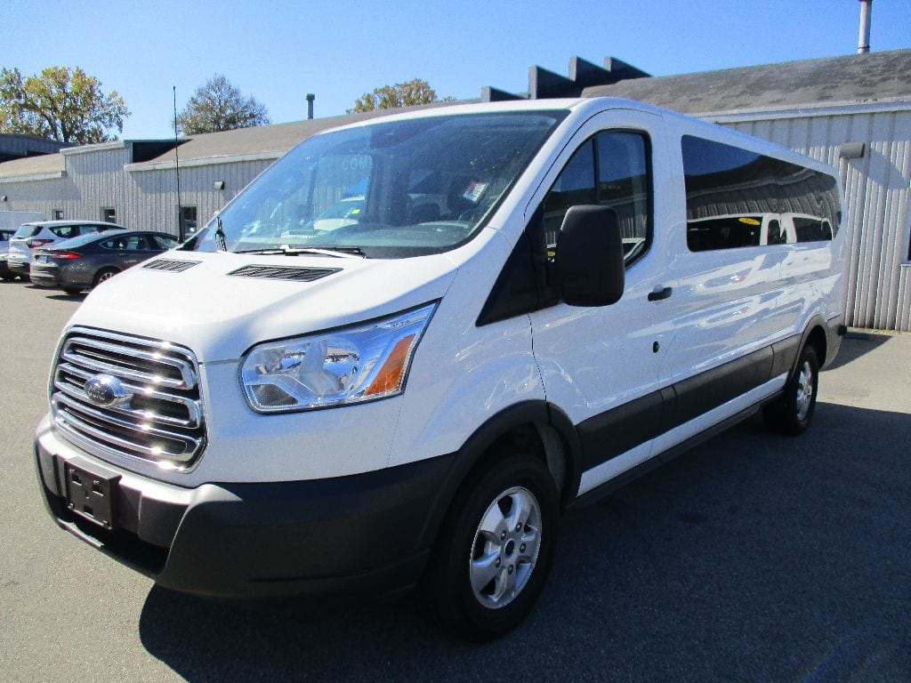 2017 Transit 350 Low Roof 4x2,  Passenger Wagon #FP3779 - photo 8