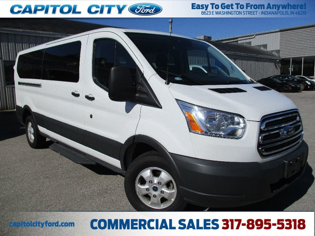 2017 Transit 350 Low Roof 4x2,  Passenger Wagon #FP3779 - photo 1