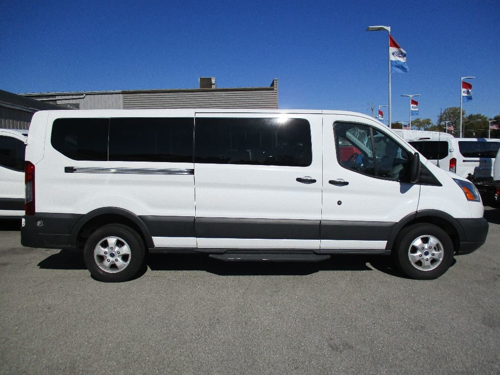 2017 Transit 350 Low Roof 4x2,  Passenger Wagon #FP3779 - photo 4