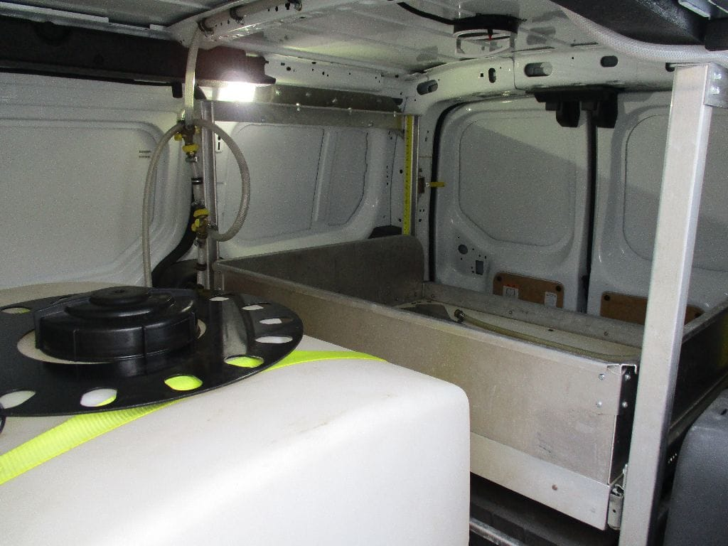 2017 Transit Connect 4x2,  Upfitted Cargo Van #FZ2917 - photo 16