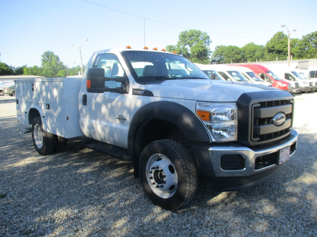2016 F-450 Regular Cab DRW 4x4,  Knapheide Service Utility Van #T60533 - photo 3