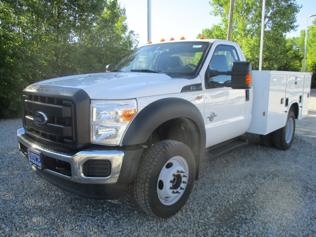 2016 F-450 Regular Cab DRW 4x4,  Knapheide Service Utility Van #T60533 - photo 9