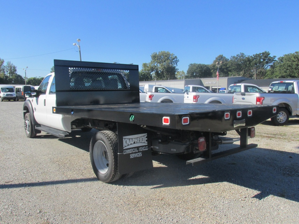 2016 F-550 Regular Cab DRW 4x4, Knapheide Platform Body #T60559 - photo 4