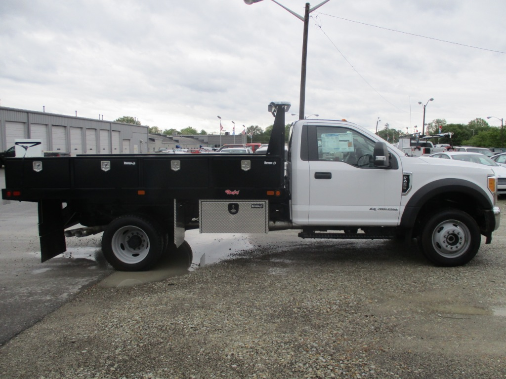 2017 F-450 Regular Cab DRW 4x4, Rugby Platform Body #T70260 - photo 4