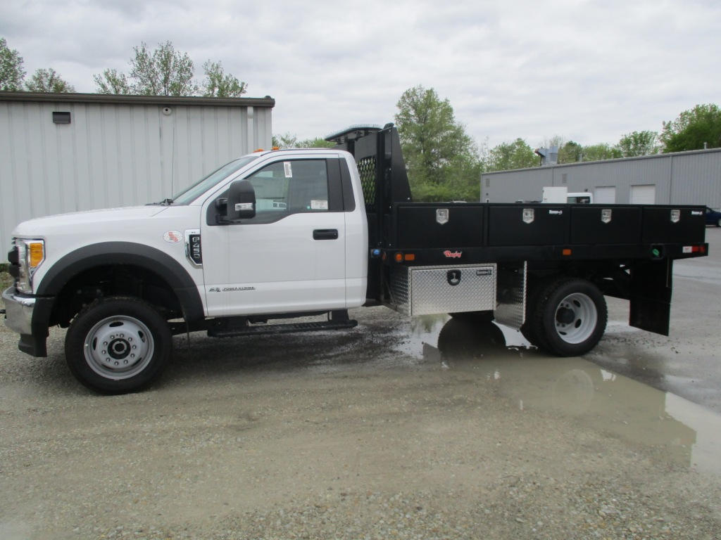 2017 F-450 Regular Cab DRW 4x4, Rugby Platform Body #T70260 - photo 8