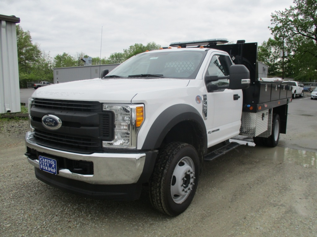 2017 F-450 Regular Cab DRW 4x4, Rugby Platform Body #T70260 - photo 9