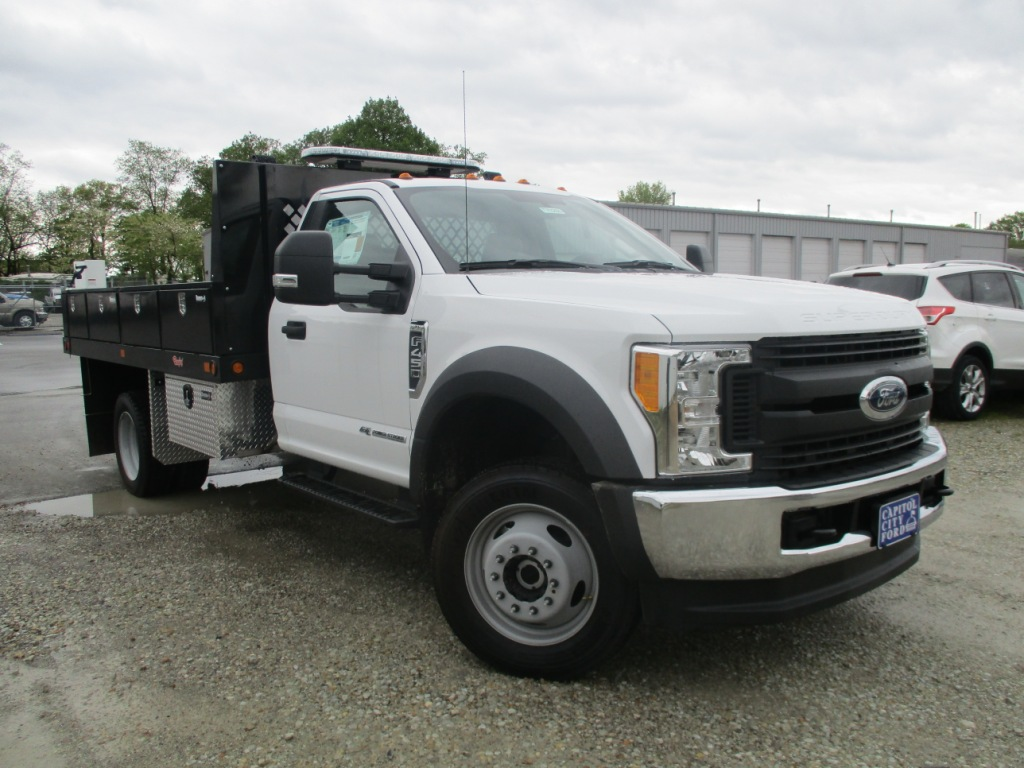 2017 F-450 Regular Cab DRW 4x4, Rugby Platform Body #T70260 - photo 20
