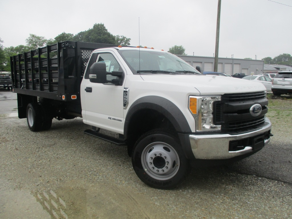 2017 F-550 Regular Cab DRW 4x2,  Knapheide Stake Bed #T70507 - photo 18