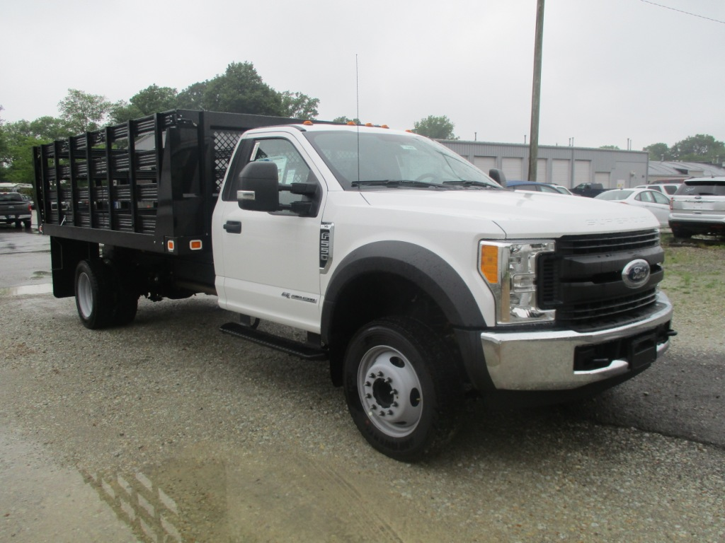 2017 F-550 Regular Cab DRW 4x2,  Knapheide Stake Bed #T70507 - photo 3