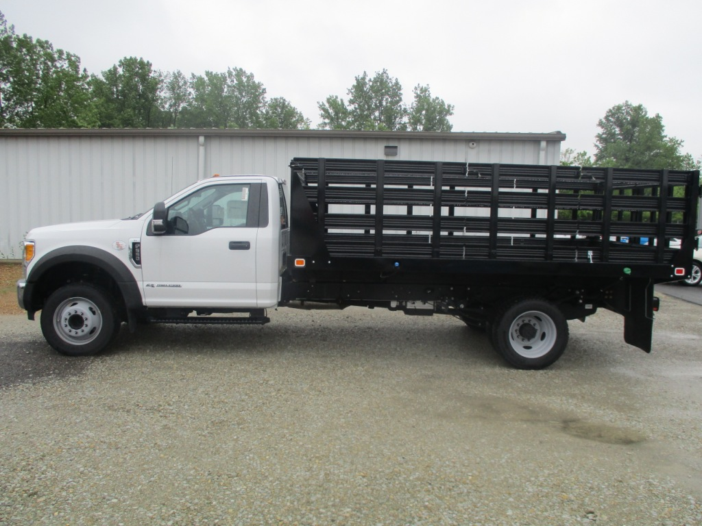 2017 F-550 Regular Cab DRW 4x2,  Knapheide Stake Bed #T70507 - photo 8