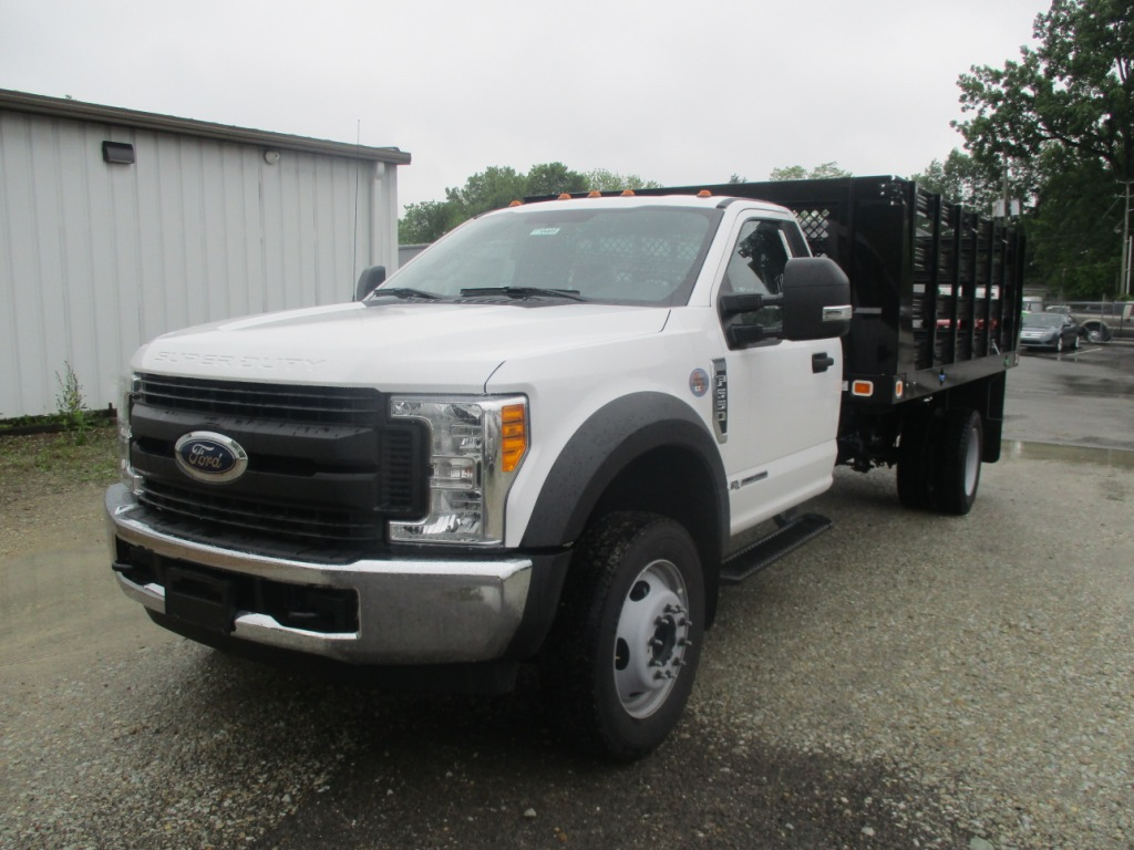 2017 F-550 Regular Cab DRW 4x2,  Knapheide Stake Bed #T70507 - photo 9