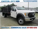 2017 F-550 Regular Cab DRW 4x2,  Knapheide Stake Bed #T70507 - photo 1
