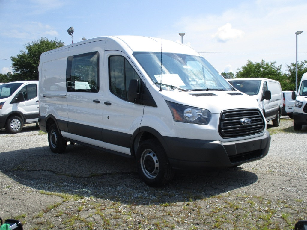 2017 Transit 250 Med Roof 4x2,  Empty Cargo Van #T70708 - photo 3