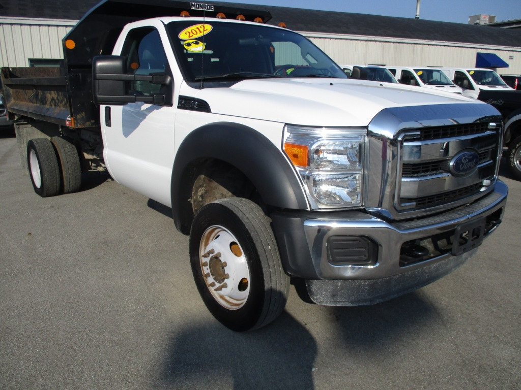2012 F-550 Regular Cab DRW 4x4, Dump Body #T70723A - photo 10
