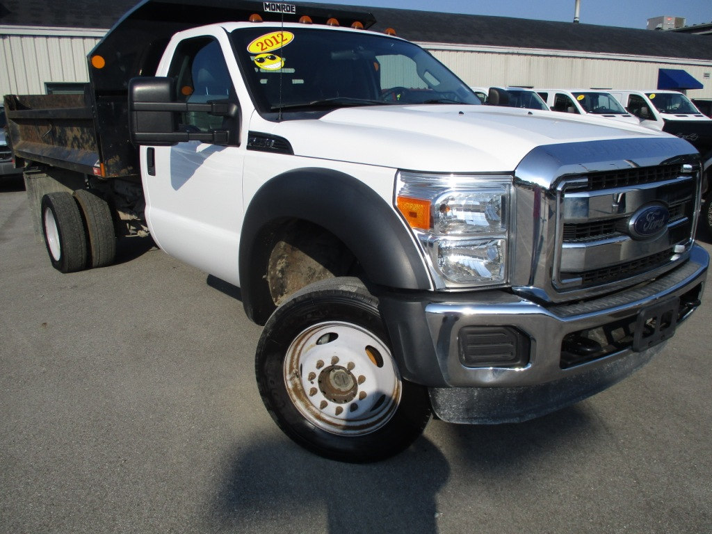 2012 F-550 Regular Cab DRW 4x4, Dump Body #T70723A - photo 28
