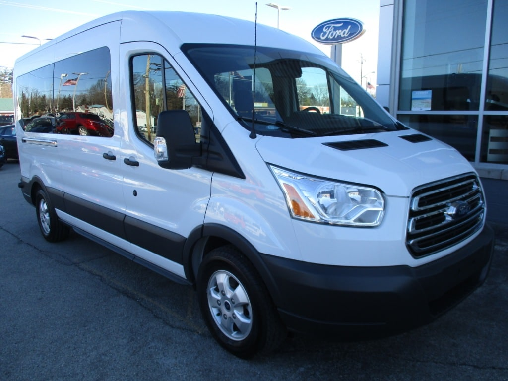 2017 Transit 350 Med Roof, Passenger Wagon #T70861 - photo 3