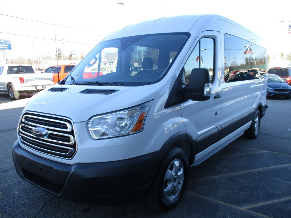 2017 Transit 350 Med Roof, Passenger Wagon #T70861 - photo 8