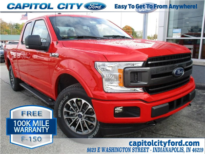 2018 F-150 Super Cab 4x4,  Pickup #T80076 - photo 1