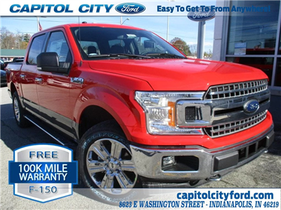 2018 F-150 Crew Cab 4x4, Pickup #T80101 - photo 1