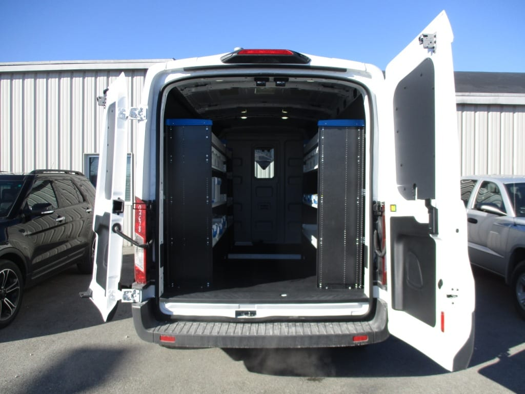 2018 Transit 250 Med Roof, Upfitted Van #T80192 - photo 2