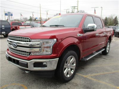 2018 F-150 SuperCrew Cab 4x4, Pickup #T80202 - photo 8