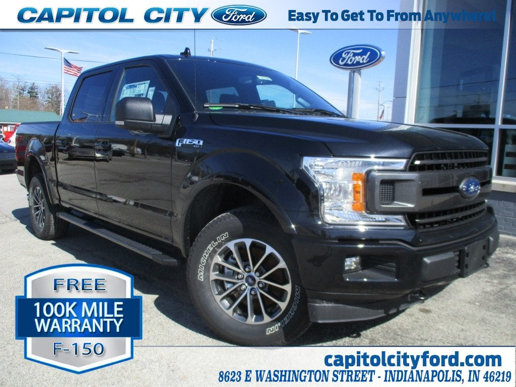 2018 F-150 Crew Cab 4x4, Pickup #T80226 - photo 1