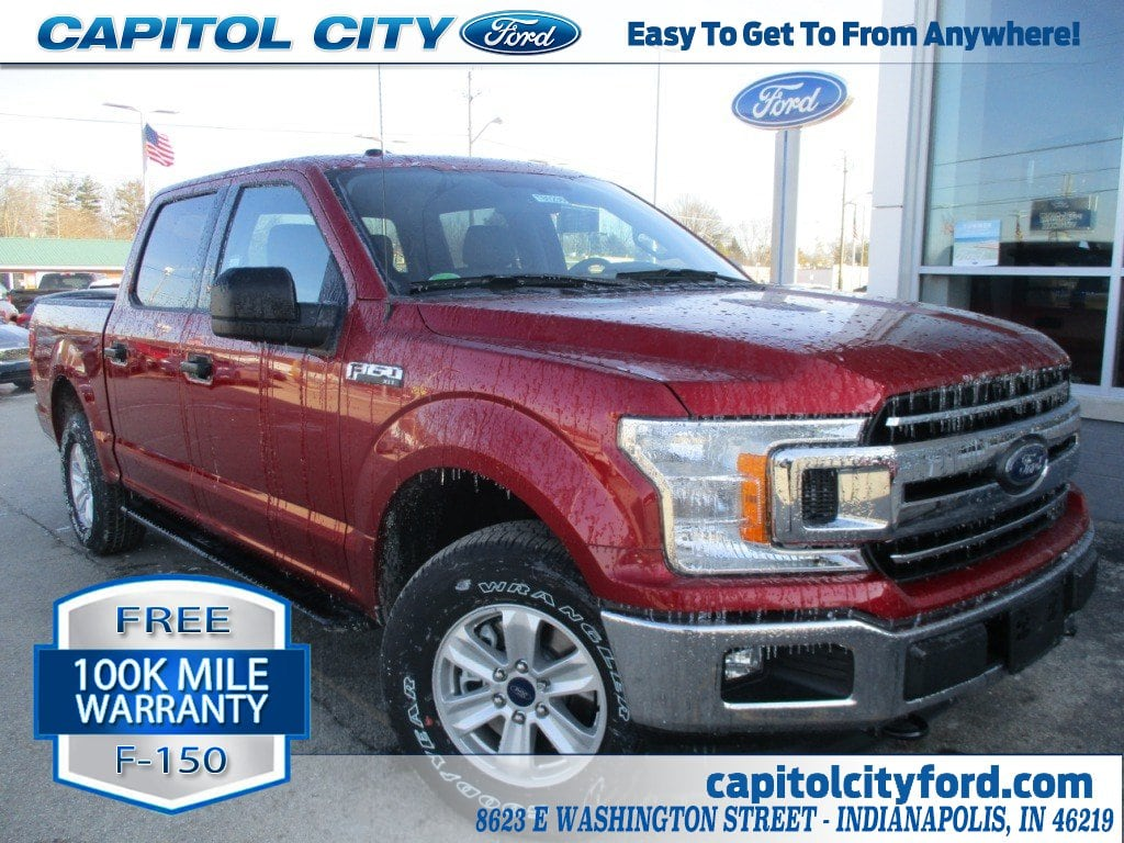 2018 F-150 Crew Cab 4x4, Pickup #T80236 - photo 1