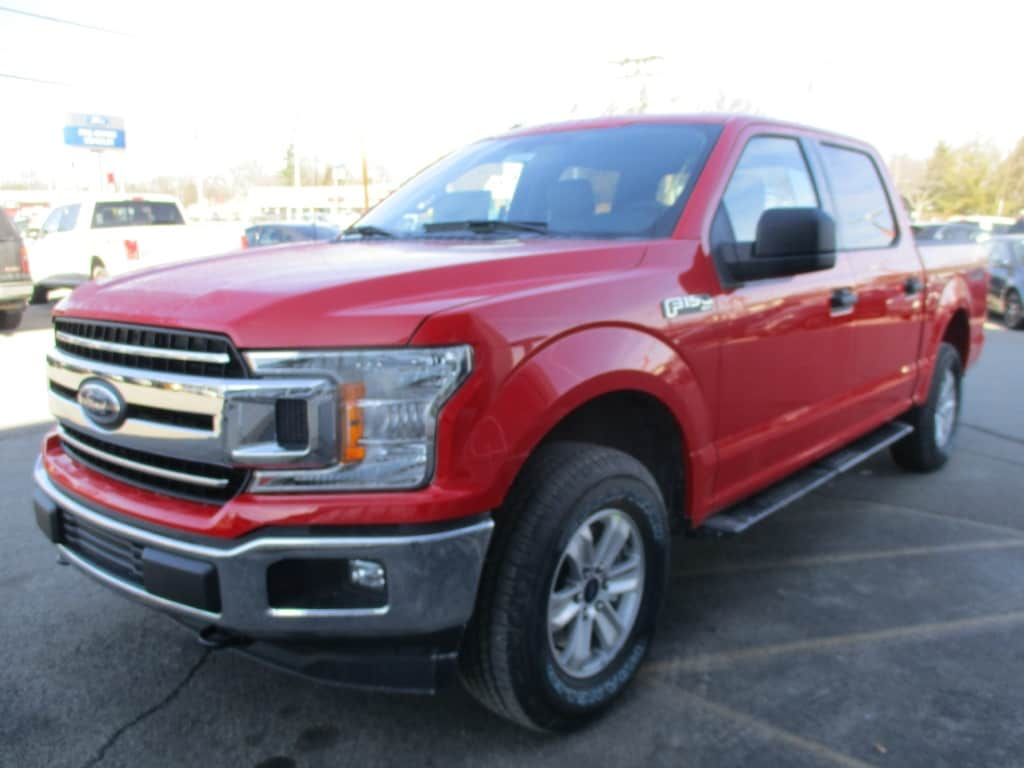 2018 F-150 SuperCrew Cab 4x4, Pickup #T80237 - photo 9