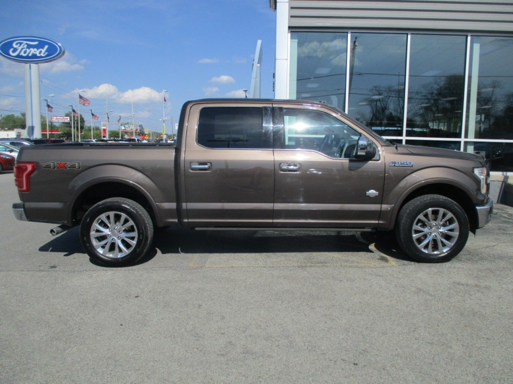 2016 F-150 SuperCrew Cab 4x4,  Pickup #T80248A - photo 3