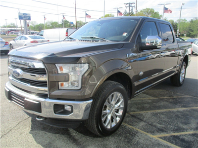 2016 F-150 SuperCrew Cab 4x4,  Pickup #T80248A - photo 8