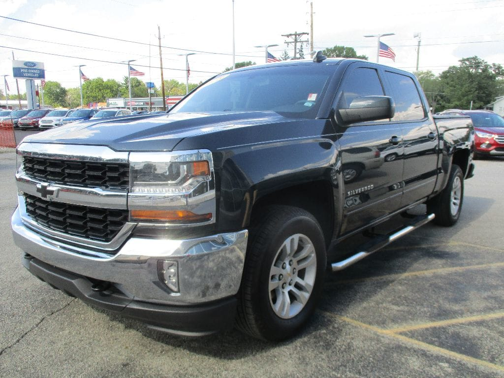 2018 Silverado 1500 Crew Cab 4x4,  Pickup #T80395A - photo 9