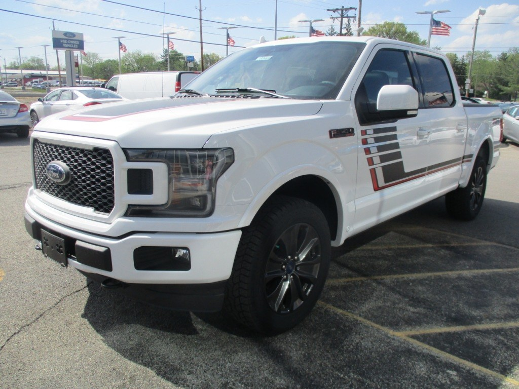 2018 F-150 SuperCrew Cab 4x4,  Pickup #T80444 - photo 9