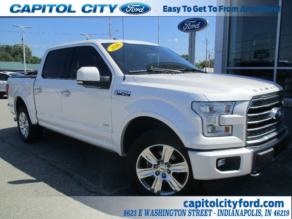 2016 F-150 SuperCrew Cab 4x4,  Pickup #T80722A - photo 1