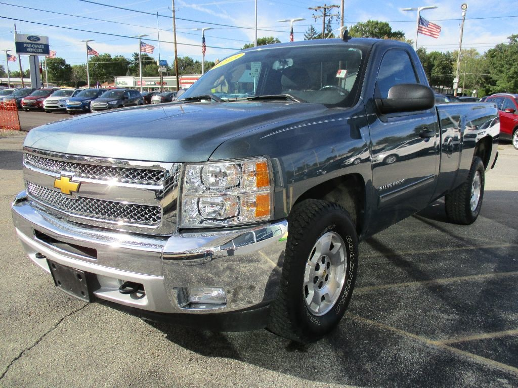 2013 Silverado 1500 Regular Cab 4x2,  Pickup #T80887A - photo 9