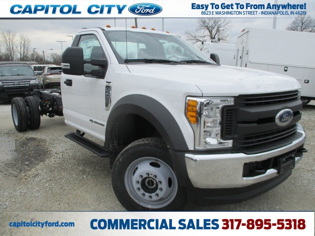 2017 F-450 Regular Cab DRW 4x4,  Cab Chassis #Z2895 - photo 1