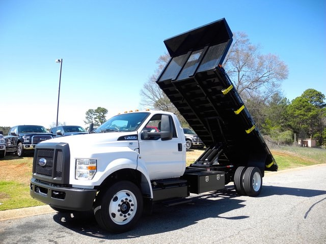 2017 F-650 Regular Cab DRW, Platform Body #DB05486 - photo 19