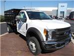2017 F-450 Regular Cab DRW, Stake Bed #EB15004 - photo 1