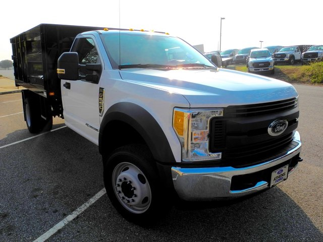 2017 F-550 Regular Cab DRW, Knapheide Landscape Dump #EB15005 - photo 3