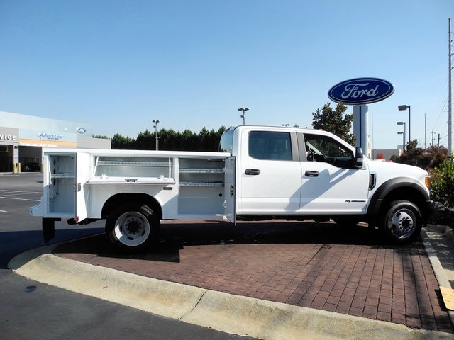 2017 F-550 Crew Cab DRW 4x4, Reading Service Body #EB30616 - photo 9