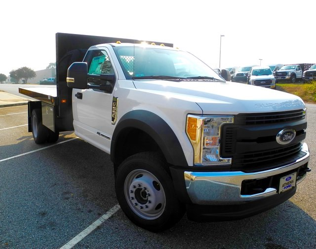 2017 F-550 Regular Cab DRW 4x4, Knapheide Platform Body #EB30723 - photo 3