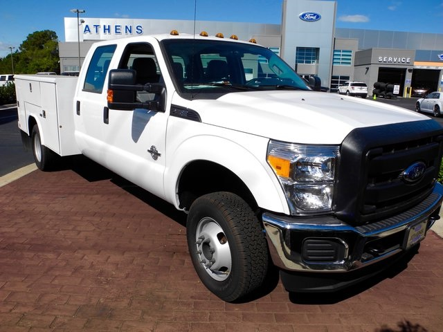 2016 F-350 Crew Cab DRW 4x4, Reading Service Body #EC76057 - photo 3